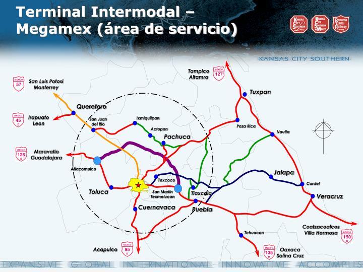 Terminal Intermodal – Megamex (área de servicio)