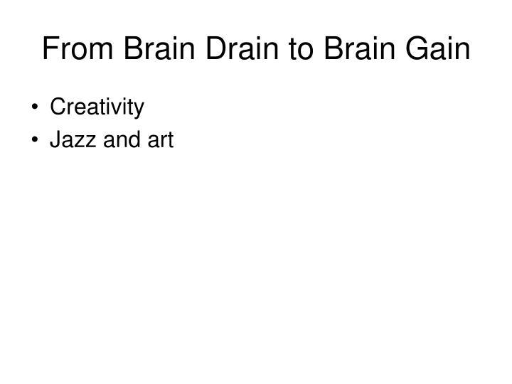 From Brain Drain to Brain Gain