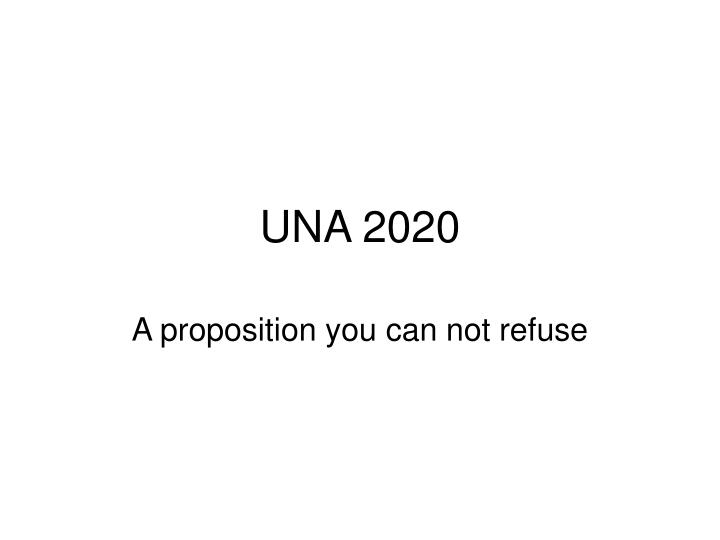 una 2020