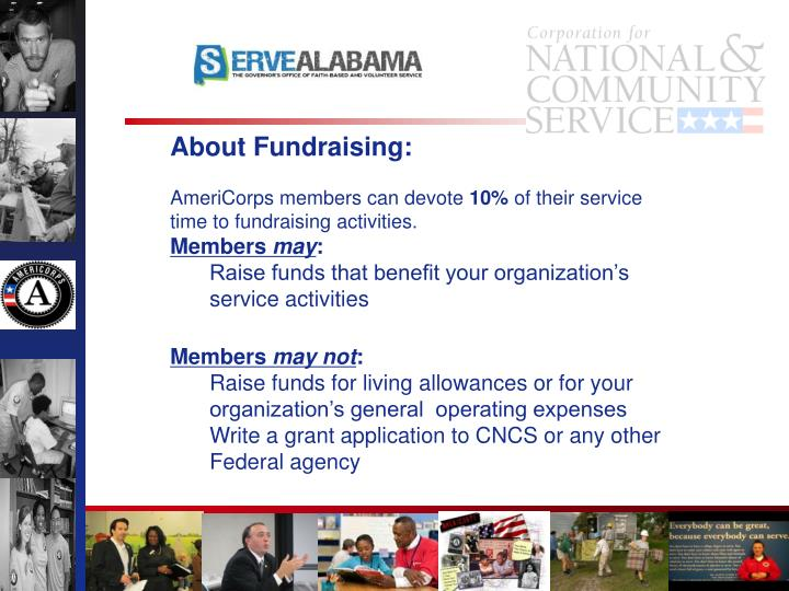 About Fundraising: