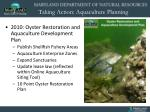 taking action aquaculture planning