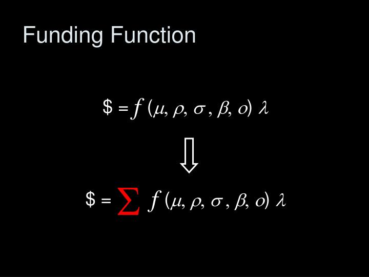 Funding Function