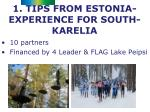 1 tips from estonia experience for south karelia