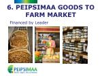 6 peipsimaa goods to farm market