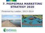 7 peipsimaa marketing strategy 2020