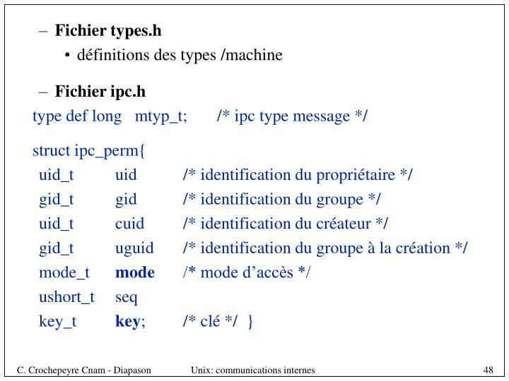 Fichier types.h