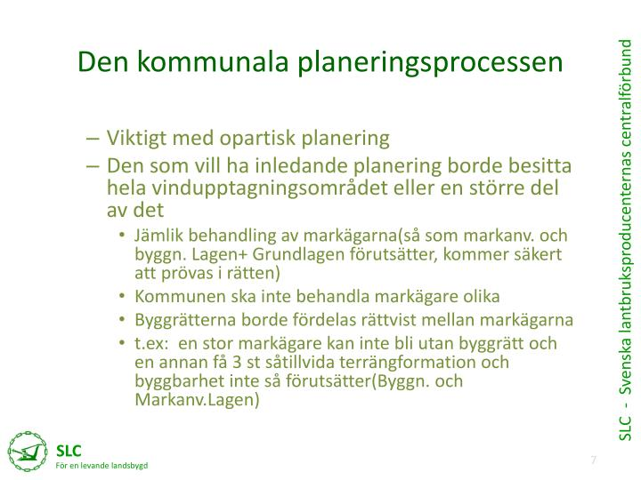 Den kommunala planeringsprocessen