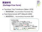 garbage free form1