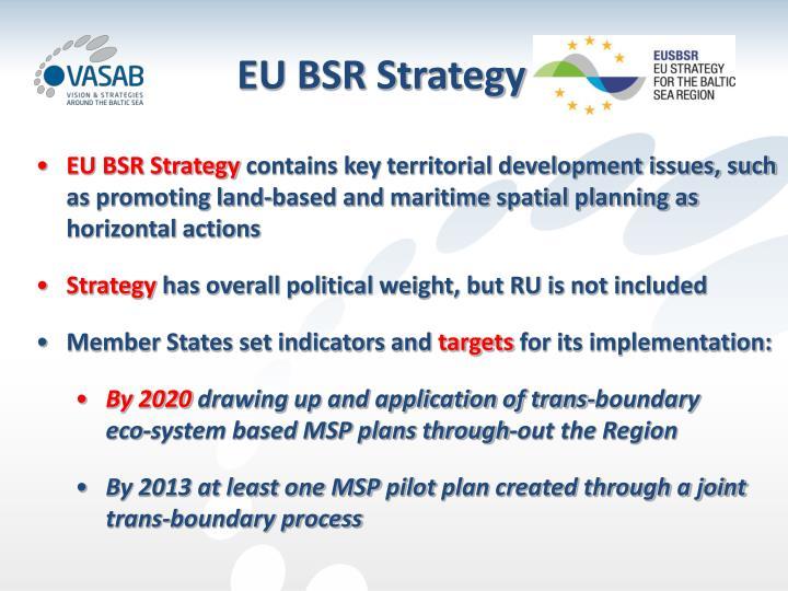 EU BSR Strategy