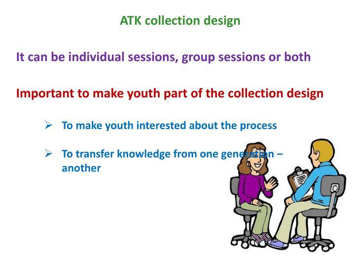 ATK collection design