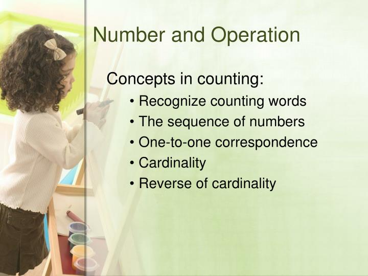 Number and Operation