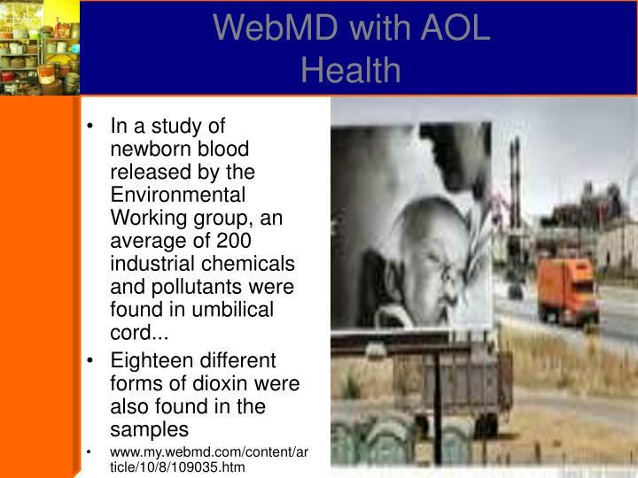 WebMD with AOL