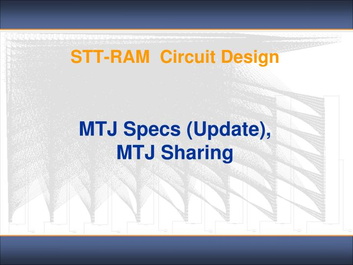 stt ram circuit design