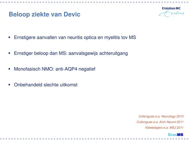 Beloop ziekte van Devic