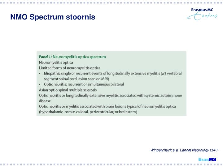 NMO Spectrum stoornis