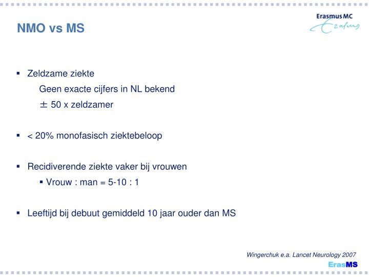 NMO vs MS