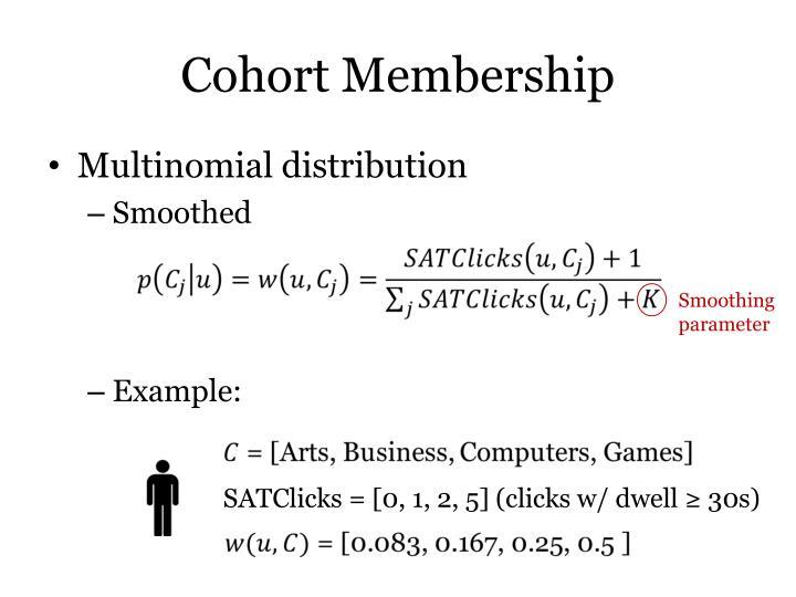Cohort Membership