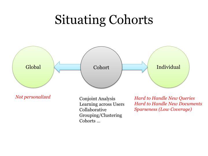 Situating Cohorts