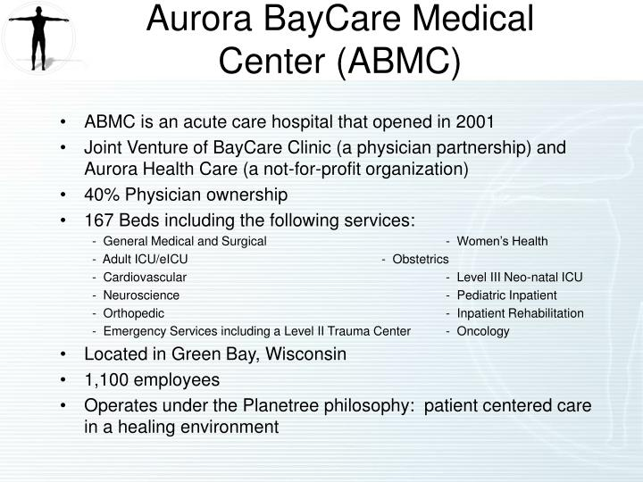 Aurora baycare medical center abmc