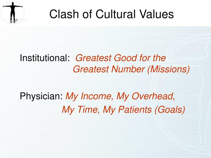 Clash of Cultural Values