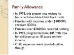 family allowance2