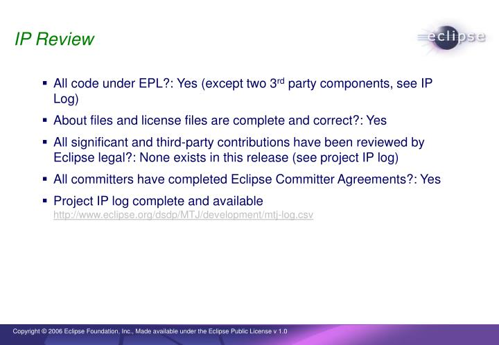 IP Review
