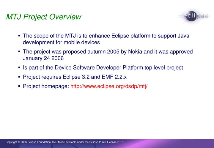 MTJ Project Overview