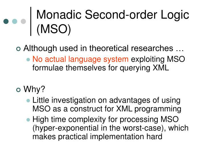 Monadic Second-order Logic