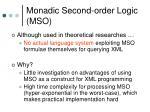 monadic second order logic mso2