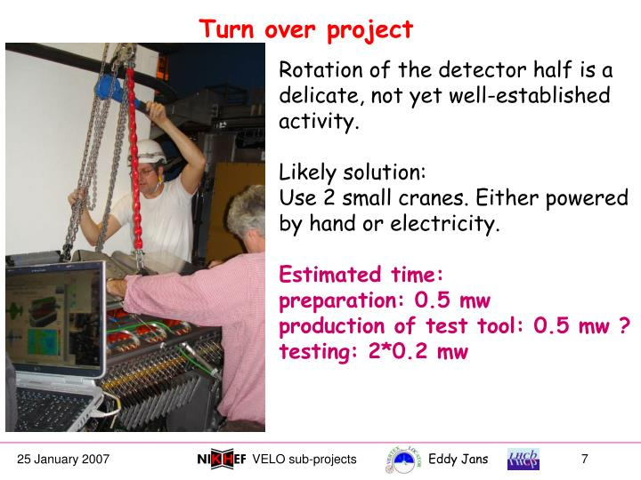 Turn over project