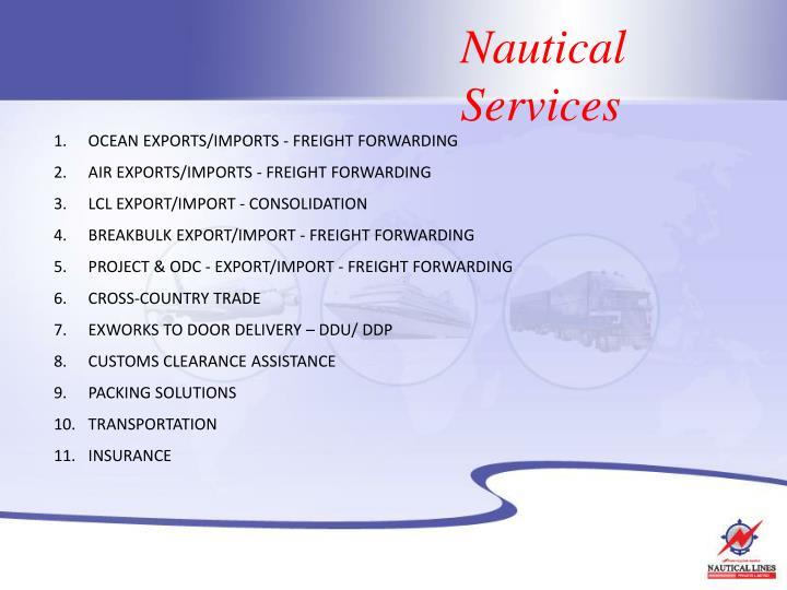 Nautical Services