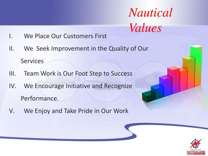 Nautical Values