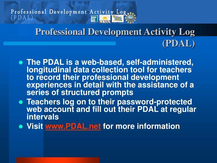 Professional Development Activity Log (PDAL)