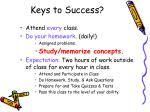 keys to success1