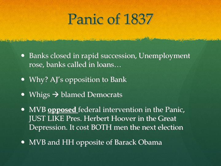 Panic of 1837