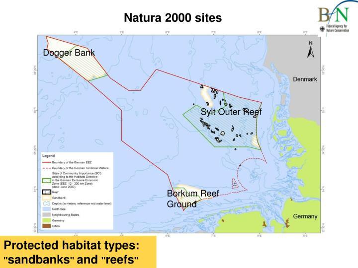 Natura 2000 sites