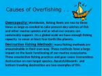 causes of overfishing