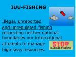 iuu fishing