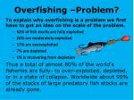 overfishing problem