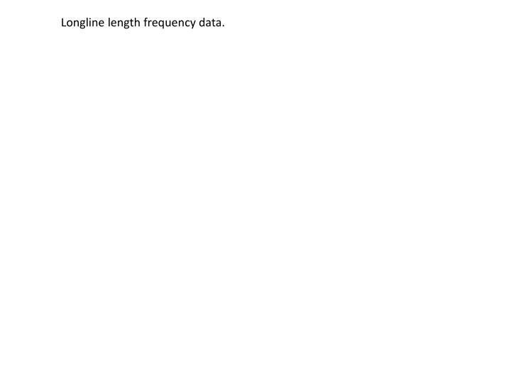 Longline length frequency data.
