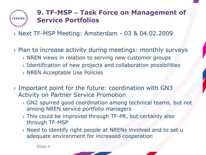 9. TF-MSP