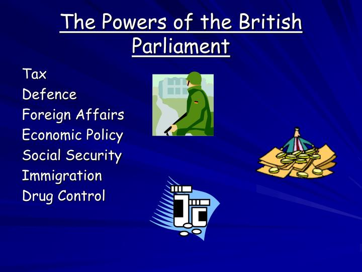 The Powers of the British Parliament