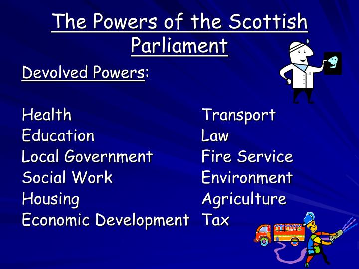The Powers of the Scottish Parliament