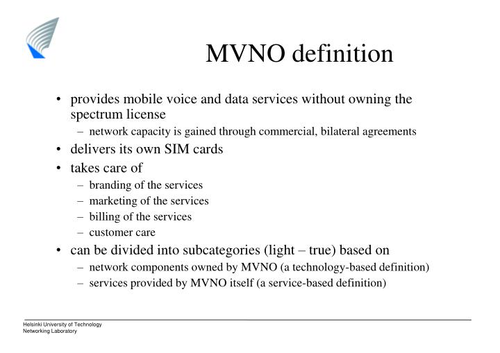 MVNO definition