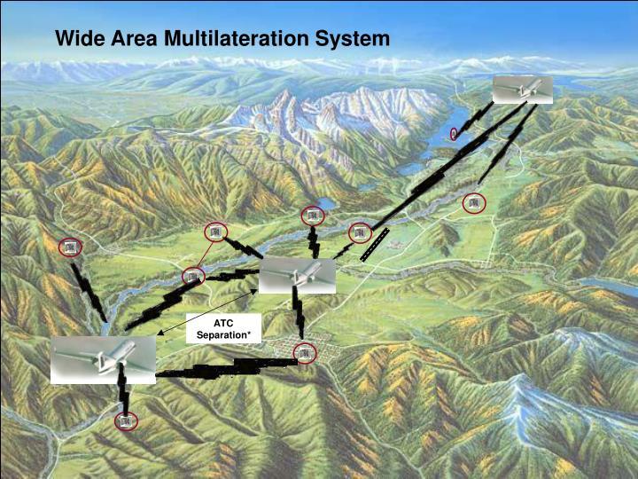 Wide Area Multilateration System