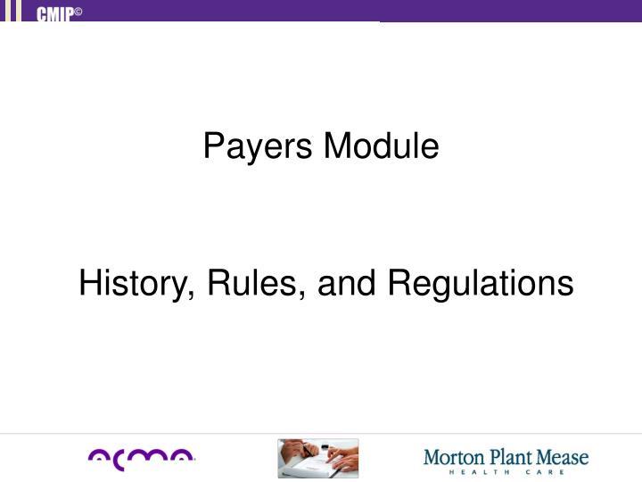 Payers Module