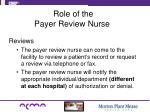 role of the payer review nurse1