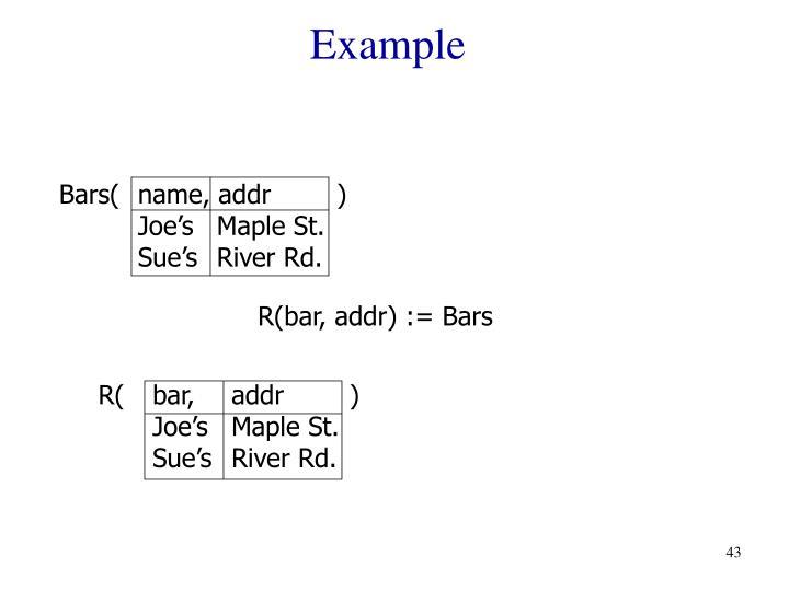 R(bar, addr        )