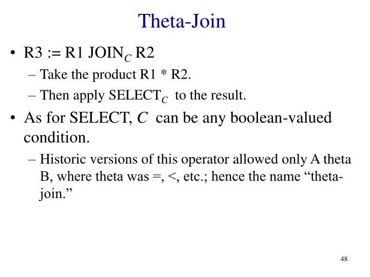 Theta-Join
