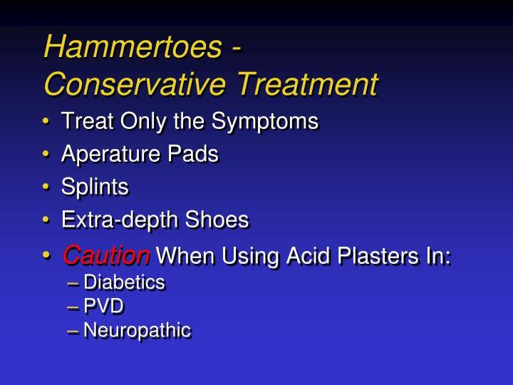 Hammertoes -